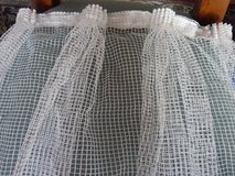 curtains white  2 pices ready sewn in Stuttgart, GE