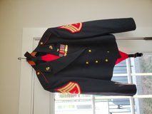 SNCO Evening Dress in Quantico, Virginia