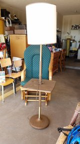Floor lamp with table in Alamogordo, New Mexico