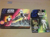 unopened 1990s Star Wars toys in Beaufort, South Carolina