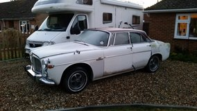Reduced Rover P5B Coupe 3.5 V8 classic car in Lakenheath, UK