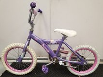 """Used Disney Princess Bike some wear but works well 12"""" Wheels in Bolingbrook, Illinois"""