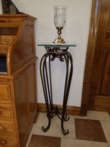 Solid Metal and Beveled Glass Plant Stand in Fort Leonard Wood, Missouri