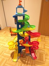 Fisher-Price Little People Take Turns Skyway in Ramstein, Germany