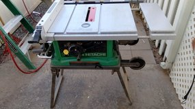 Table saw, Hitachi. Model c10fr in Alamogordo, New Mexico