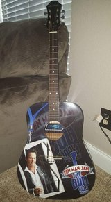 Gary Allan Autographed Epiphone Guitar in Baytown, Texas
