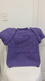 JAN SALE PRICE Purple Sweater - Size M - French Navy in Naperville, Illinois