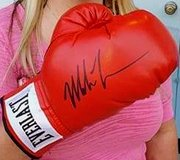 Mike Tyson Autographed Boxing Glove in League City, Texas