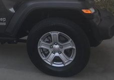 "NEW TAKE OFFS- 2018 Jeep JL 17"" alloy rims and 245/75 R17 Michelin tires in Warner Robins, Georgia"