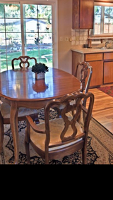 Dining room table and chairs in Kingwood, Texas