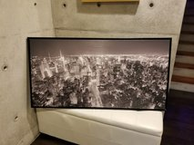 Framed Canvas Picture (Target) in Okinawa, Japan