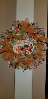 Fall Wreath in Bolingbrook, Illinois