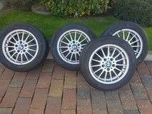 Set of BMW Wheels for Mounting Winter Tires in Wiesbaden, GE