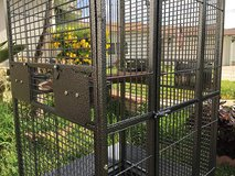Large parrot cage in Pasadena, Texas
