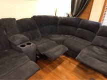 Sectional Couch/Sofa (3 Recliners/USB) in Bolingbrook, Illinois