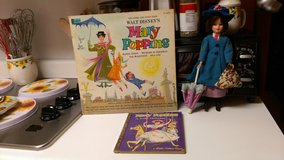 1960's Mary Poppins doll/book/album in Warner Robins, Georgia