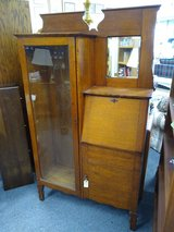 Antique Oak Secretary in Bolingbrook, Illinois