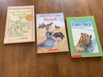 Sarah, Plain and Tall Books 1 -3 by Patricia MacLachlan, Newbery Medal Winner in Cherry Point, North Carolina