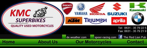 www.kmcsuperbikes.com CALL 01703070155 Allan in Ramstein, Germany