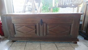 200 year old fire chest with original hard ware in Stuttgart, GE