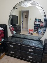 Black Ice Dresser, Mirror, and 2 End tables in Camp Lejeune, North Carolina