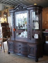 beautiful display cabinet with rounded glass in Stuttgart, GE