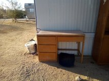 Desk and Entertainment cabinet in 29 Palms, California