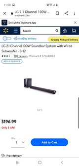 LG sound bar with sub woofer in Alamogordo, New Mexico