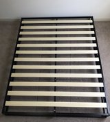 Queen size low-profile bed frame in Conroe, Texas