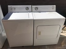 Roper by Whirlpool washer and electric dryer set in Alamogordo, New Mexico