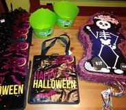 Halloween party lot in Spring, Texas