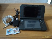 Dual Voltage Nintendo 3DS XL w/ Accessories and 2 Games; MarioKart and Super SmashBros in Ramstein, Germany