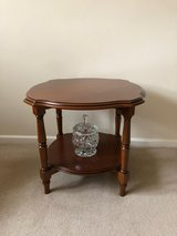 side tables solid wood cherry x 2 in Lakenheath, UK
