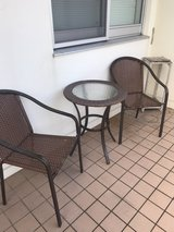 Outdoor Patio Table and 2 Chairs in Okinawa, Japan