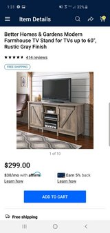 rustic tv stand in Camp Lejeune, North Carolina