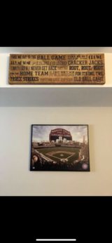 Chicago Cubs Wall Canvas Art in Westmont, Illinois