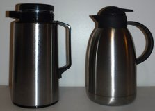 Stainless Thermique -OR- The Cellar Thermal Hot/Cold Coffee Pot / Beverage Carafe ~2L in Orland Park, Illinois