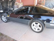 "NICE SET OF SILVER CORVETTE 17""x 8.5"" WHEELS AND OLD TIRES[they do hold air] in Alamogordo, New Mexico"