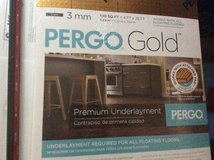 PERGO GOLD new wood flooring And supplies value $1800.00 in Kingwood, Texas