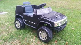 6V Hummer H2 Ride-On - Black in Joliet, Illinois