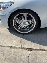 "Set of 4 20"" rims only for sale in Beaufort, South Carolina"