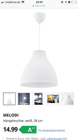 IKEA Lights MELODI 38cm *2 in Stuttgart, GE