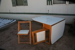 Foldable table and Chairs in Alamogordo, New Mexico
