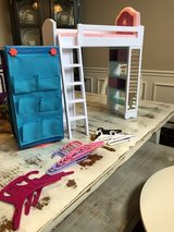 Loft Bed, AG Chair and a Wardrobe for 18in Dolls in Clarksville, Tennessee