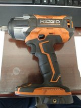"Ridgid 18v 1/2"" gen 5 impact tool only. in Alamogordo, New Mexico"