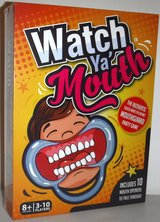 New! Watch Ya' Mouth - Hilarious Mouthguard Party Game ~Ages: 8+ in Bolingbrook, Illinois