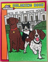 Pets at the White House Coloring Book in Okinawa, Japan