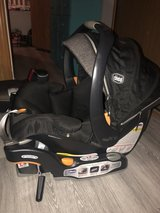 Chicco KeyFit Car Seat/2 Spare Bases and Stroller in Camp Lejeune, North Carolina