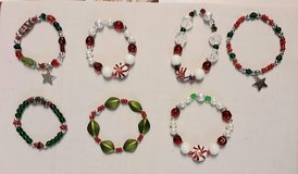Christmas  stretch bracelets in Westmont, Illinois