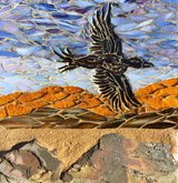 3 New Mosaic pieces in Yucca Valley, California
